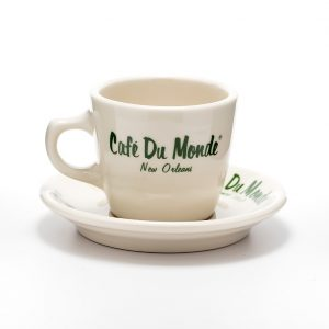 Cafe du Monde Coffee Cup and Saucer