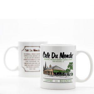 Cafe du Monde Logo Coffee Mug