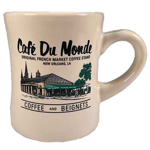 Cafe du Monde Ivory Diner Coffee Mug