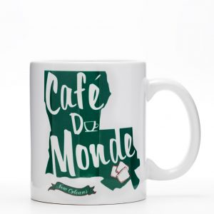 Cafe du Monde Louisiana State Coffee Mug