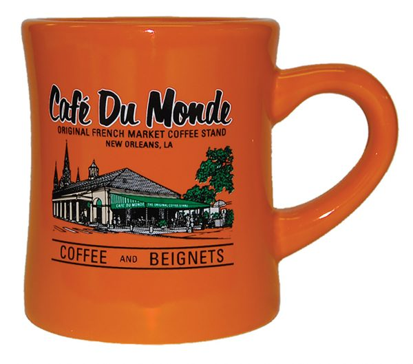 Cafe du Monde Orange Diner Coffee Mug