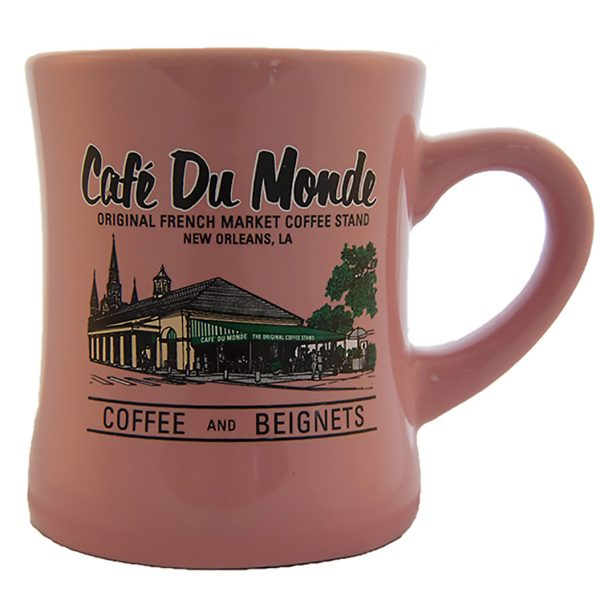Cafe du Monde Pink Diner Coffee Mug