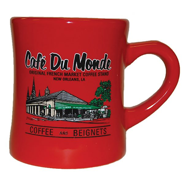 Cafe du Monde Red Diner Coffee Mug
