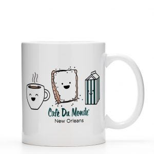Cafe du Monde Smile Coffee Mug