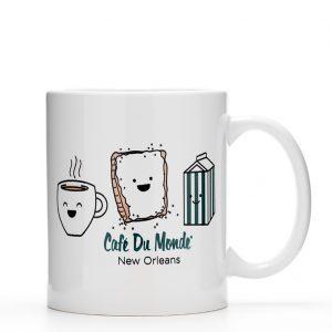 Cafe du Monde Smile Coffee Mug