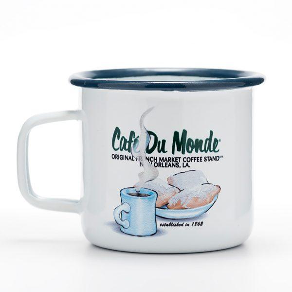 Cafe du Monde Tin Coffee Cup