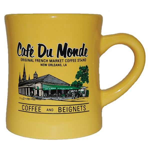 Cafe du Monde Yellow Diner Coffee Mug