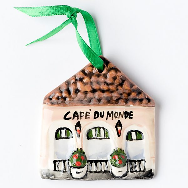 Cafe du Monde Clay Ornament