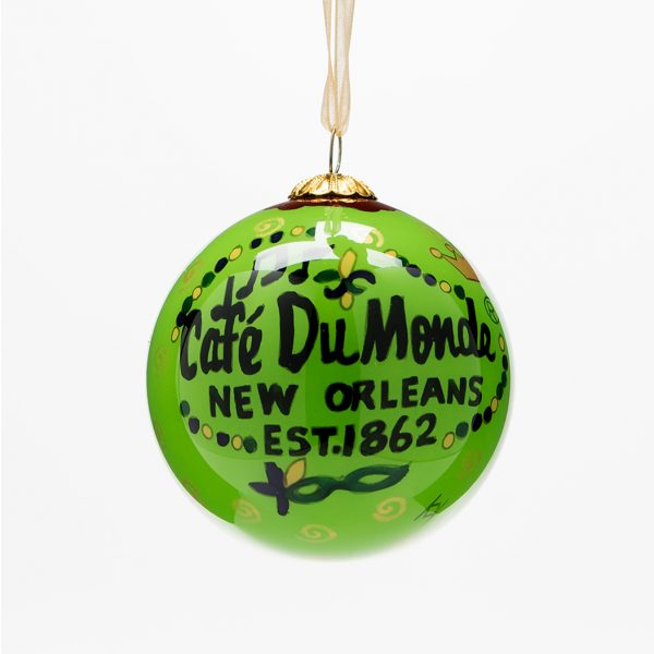 Cafe du Monde Glass Ball Ornament
