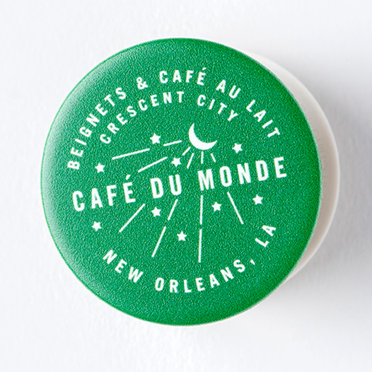 Cafe du Monde Crescent City Pop Socket
