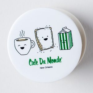 Cafe du Monde Smile Pop Socket