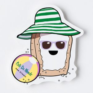 Cafe du Monde Beach Beignet Sticker
