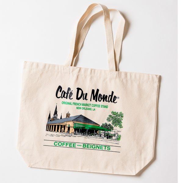 Cafe du Monde Logo Tote Bag