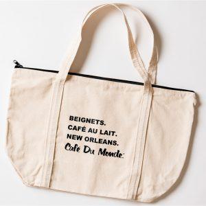 Cafe du Monde Zip Tote Bag