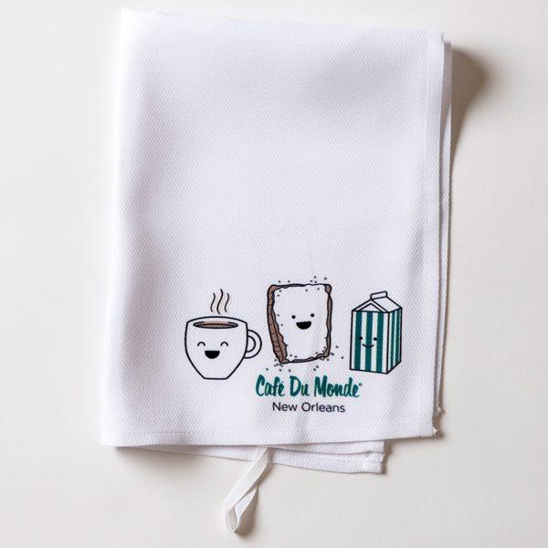 Cafe du Monde Smile Towel