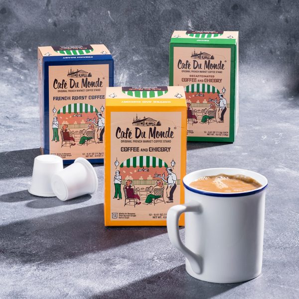 Cafe du Monde Single Serve Coffee Plan
