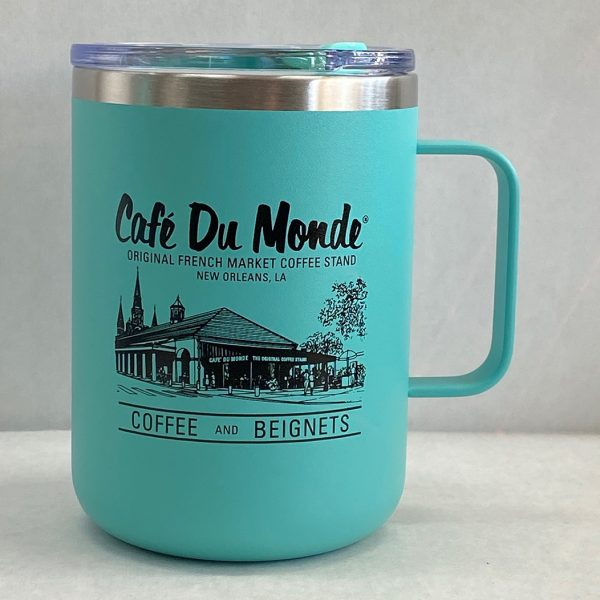 Cafe du Monde Logo Camper Mug