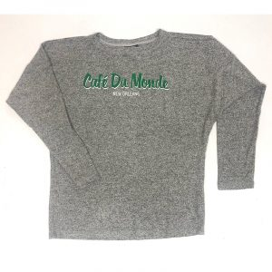 Cafe du Monde New Orleans Gray Spirit Jersey